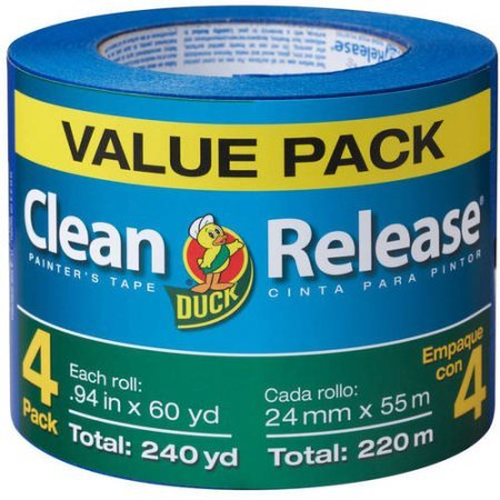 Duck Brand Clean Release Painting Tape, Blue.94 (Value Pack)