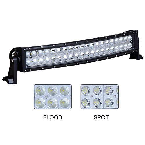 Nilight 22″ 120w Flood Spot Combo LED Light Bar Work Light Driving Lights Fog Lamp Offroad Lighting for SUV UTE ATV Truck Boat 4×4 Jeep Lamp,2 Years Warranty