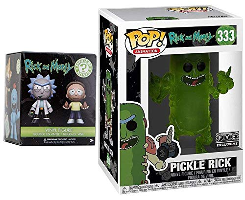 Double R&M Figure Pack Exclusive Funko Pickle Rick for sale  Delivered anywhere in USA