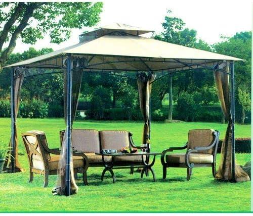 Jardín Vientos toldo de Repuesto para el bambú Look Gazebo – 350: Amazon.es: Jardín