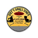 Pop Stand Socket Wireless Stand - Relax Your Hand Easy to Watch - Dirty Dog's Diner, round