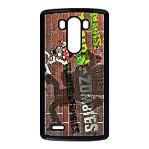 DIY Printed Plants vs. Zombies hard plastic case skin cover For LG G3 SNQ521974