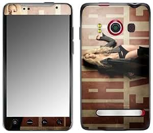 Zing Revolution MS-SHAK30132 Shakira - She Wolf Cell Phone Cover Skin for HTC Evo 4G