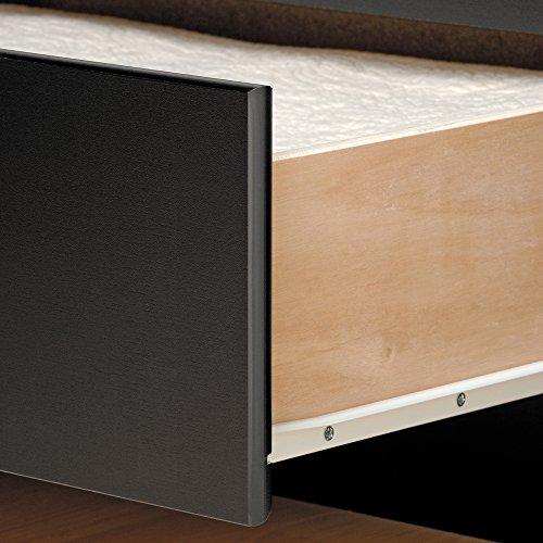 Prepac BBT-4106 Tall Twin Sonoma Platform Storage Bed with 6 Drawers