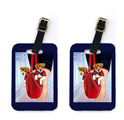 UPC 705332225991, Carolines Treasures 7251BT Pair of 2 Jack Russell Terrier Luggage Tags
