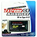 ESDCFII: Extreme MMC, SDHC, SD to CF Type II Adapter by Semco