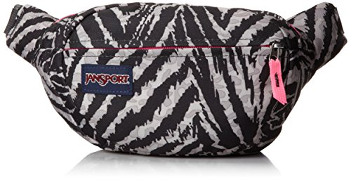 JanSport Fifth Avenue Fanny Pack - Grey Tar Wild At Heart / 6H x 12.5W x - Ave Shops 5th