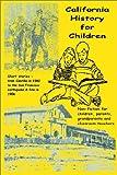 California History for Children, Harr Wagner, 1885852126