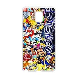 Disney General Mobilization Design Plastic Case Cover For Samsung Galaxy Note4