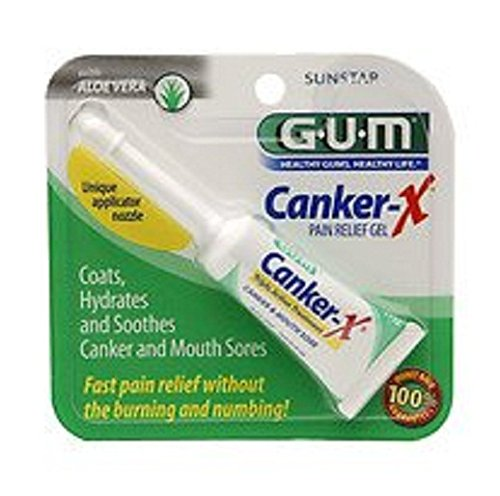 G-U-M Canker X Triple Action Treatment, .28 oz - 2 Pack