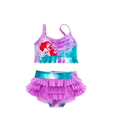 cb5b2f3363 Disney Store Princess The Little Mermaid Ariel Girl Two Piece Swimsuit (7 8)