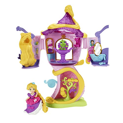 Rapunzel's Stylin' Tower is one of the popular Disney Princess Little Kingdom toys for girls