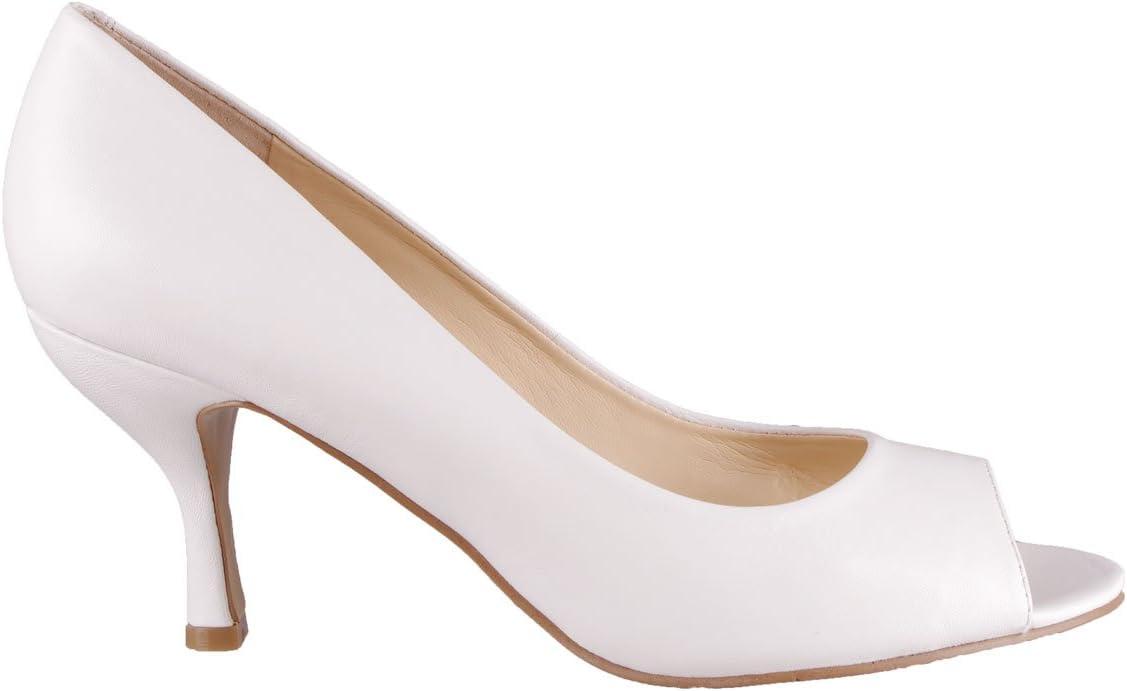 Womens Shoes Quinty Peep-Toe Heel Pumps