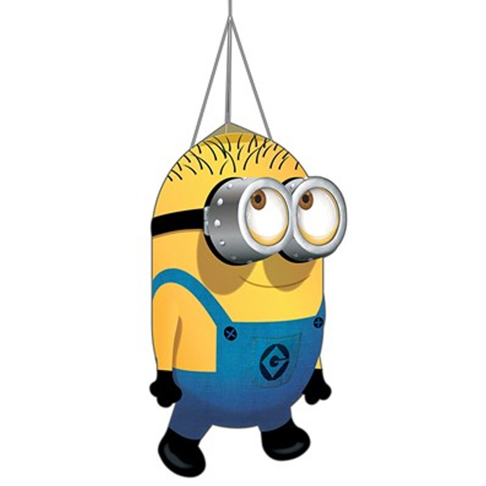 Despicable Me Minion Windsocks. Phil. Telescopic Flag Pole or Garden Use. Life's a Breeze