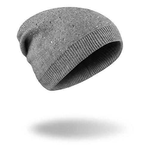 Halloween Hat Navidad rojo vino cálido tejidas Invierno MS gorras MASTER beanie PAC Grey sombreros dUvgd4q