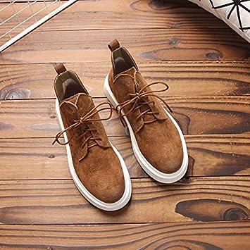 Shukun Botines Joker Casual Martin Boots Suela Gruesa Mate Correa PU Botas Cortas para Estudiantes Zapatos de Mujer Botas Individuales: Amazon.es: Deportes ...