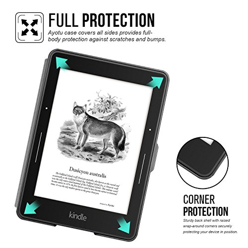 Ayotu Case for Kindle Voyage E-reader Auto Wake and Sleep Smart Protective Cover, For 2014 Kindle Voyage Case Painting Series KV-04 The Totem by Ayotu (Image #5)