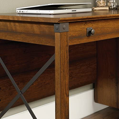 home, kitchen, furniture, home office furniture,  home office desks 4 picture Sauder Carson Forge Desk, Washington Cherry finish in USA