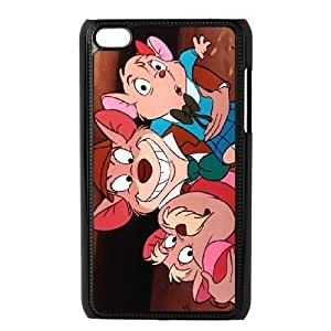 Durable Rubber Cases Ipod Touch 4 Cell Phone Case Black Fzqcs The Great Mouse Detective Protection Cover