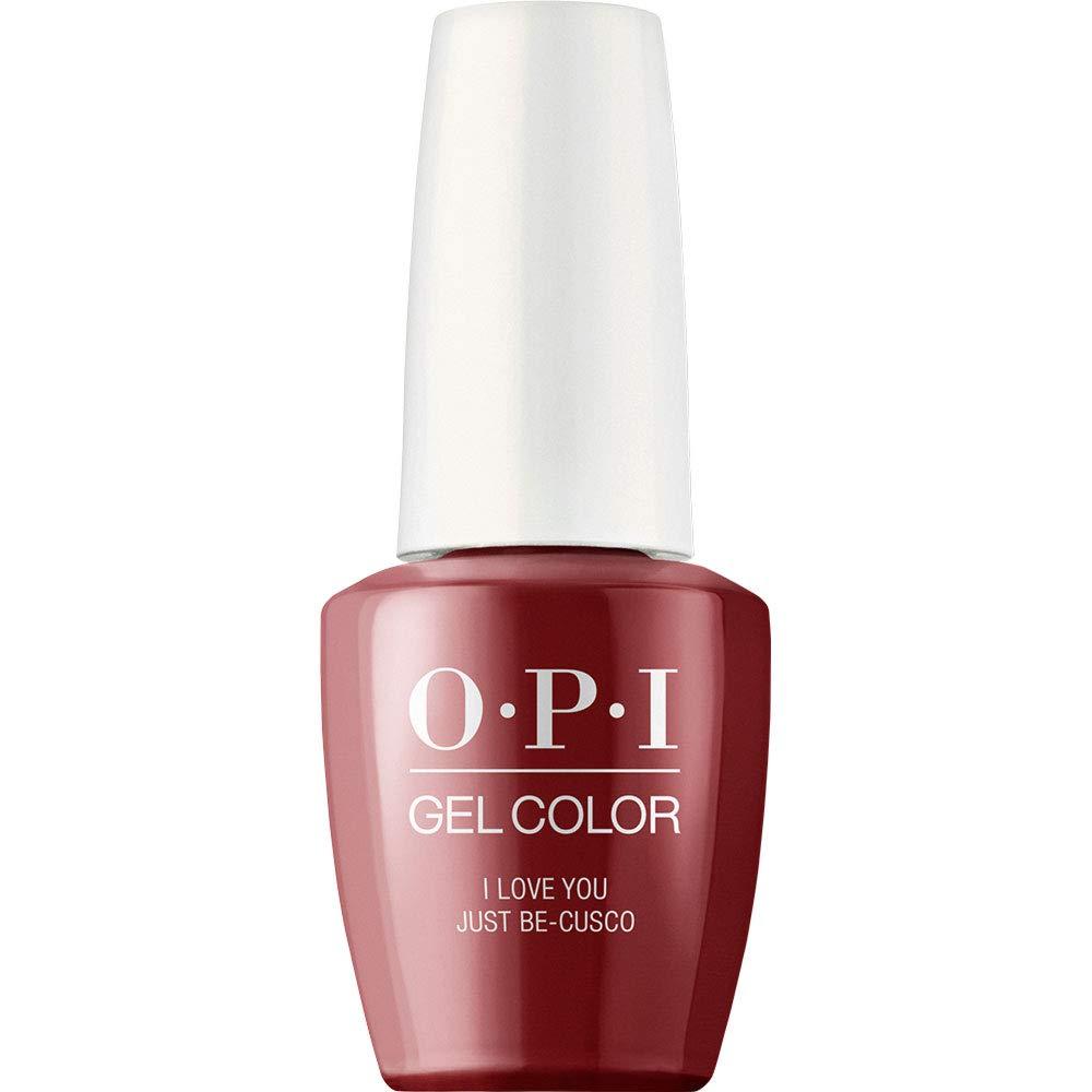 OPI GelColor Nail Polish, Red Gel Nail Polish for Long Wear, 0.5 fl oz