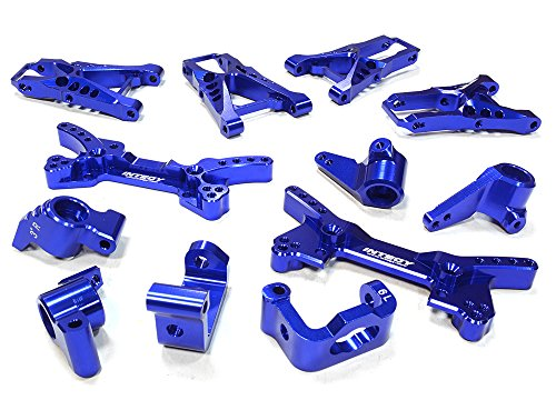 Integy RC Hobby C26202BLUE Billet Machined Suspension Kit for HPI 1/10 Sprint 2 On-Road