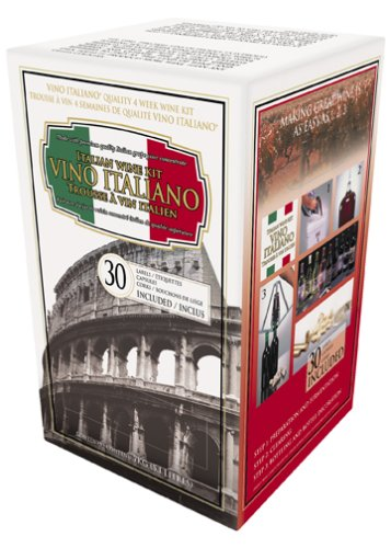 UPC 057553250000 - Vino Italiano 4 Week Wine Kit, Pinot Chardonnay, 15.5 Pound Box