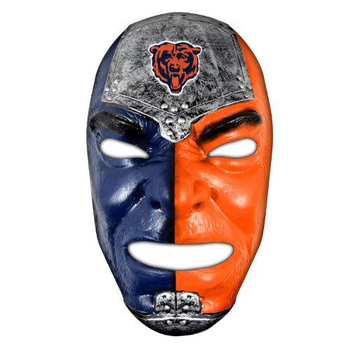 Franklin Sports NFL Chicago Bears Team Fan Face (Chicago Sports Novelty)
