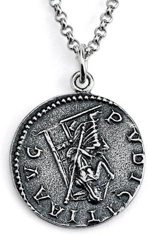 Vintage Otacilia Silver Pendant.