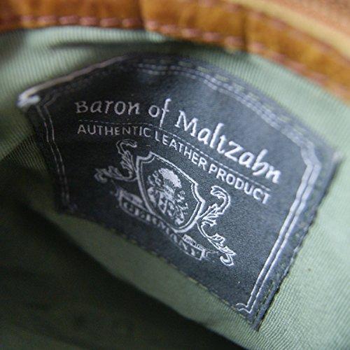 Freiherr von Maltzahn , Sac pour homme à porter à l'épaule Marron marron