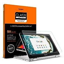 Spigen Tempered Glass Screen Protector Designed for ASUS Chromebook Flip C302CA (12.5 inch) [1PACK]
