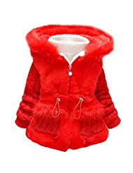 Baby and Little Girl's Toddler Kids Winter Warm Coat Jacket Outwear Snowsuit