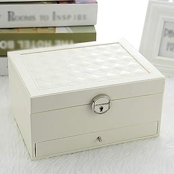 Caja decorativa joyería armario de cajones muchacha de la joyería ...