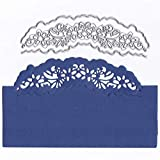 Cutting Dies Christmas, Flower Lace Hemming Metal Cutting Dies Card Making Scrapbooking Stencils Album Paper Card Craft Embossing DIY Decorative Background