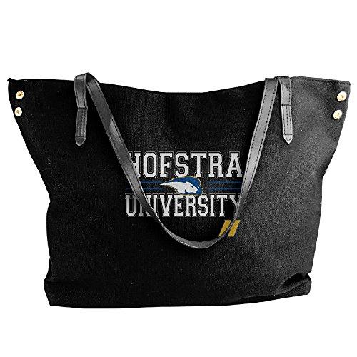 NCAA Hofstra University Pride Je Maintiendrai Logo Handbag Shoulder Bag For Women (Hofstra Costume Shop)