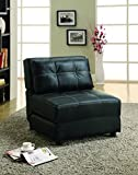Coaster Home Furnishings Casual Accent Chair, Black