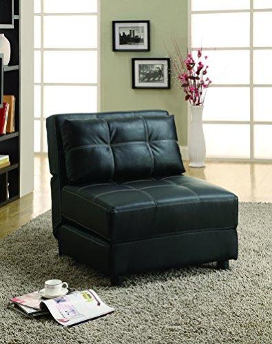 Coaster Furniture Casual Accent Chair, Black
