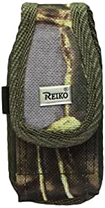 Reiko Rugged Pouch for LG LX260 RUMOR AM31, Retail Packaging, Green