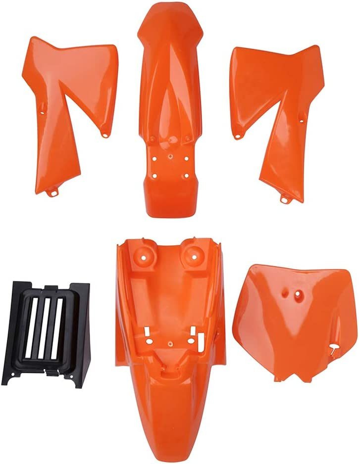 JFG Racing Kit de Guardabarros de plástico ABS para carenado de carpintería o carenado, para matrícula K.T.M SX50