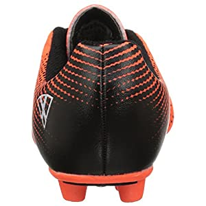 Vizari Unisex-Kids Stealth FG Size 1 Soccer-Shoes, Orange/Black, 1 M US Little Kid