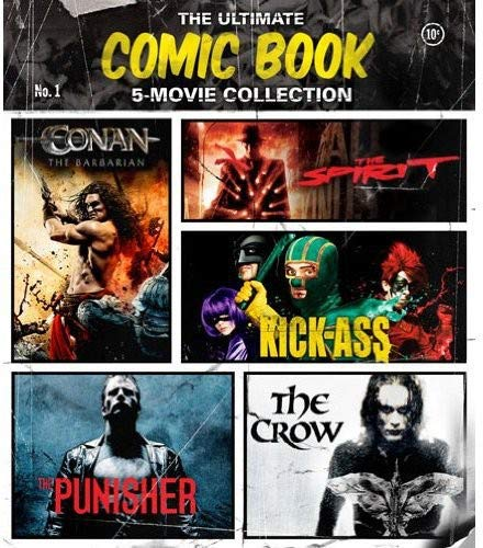 - The Ultimate Comic Book 5-Movie Collection (The Crow / The Punisher / The Spirit / Kick-Ass / Conan the Barbarian) [Blu-ray]
