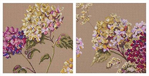 Maia Quite Time - Hydrangea Cross Stitch Kits