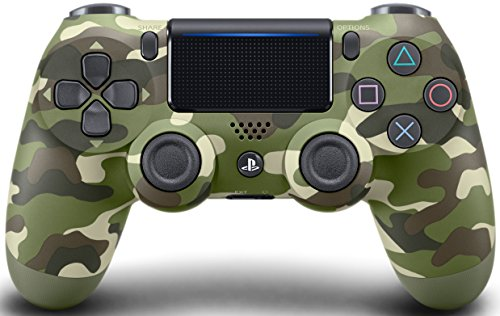 Green Camouflage PS4 PRO Master Mod 40 MOD Controller with PROGRAMMABLE PADDLES for All Major Shooter Games, Auto Aim, Quick Scope, Auto Run, Sniper Breath, Jump Shot, Active Reload & More (CUH-ZCT2)