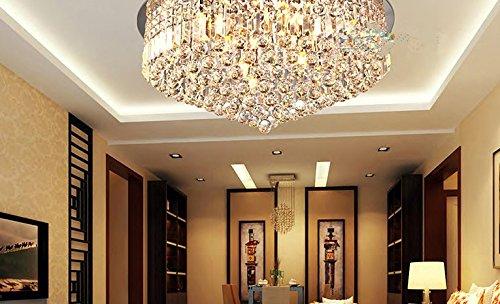 LED Kristalllampe Wohnzimmer Leuchten Beleuchtung Moderne Deckenleuchten Runde