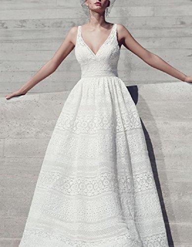 donne Formato Vestito Coolred Più Bianco Lungo Il Maxi Partito Cerchio Sleeveless gOpBqf
