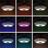 Iluminación de interior Arte LED Ventiladores de techo Luz Moderno ...
