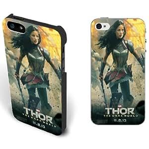 New Creative Thor The Dark World Iphone 5/5s Case Black/white Hard Shell for Men