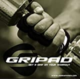 Gripad Workout Grips (Black) - The Alternative to