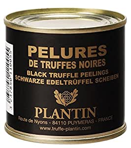 Plantin - Genuine Black Winter truffle Tuber Melanosporum 50g tin (1.76oz) Peelings