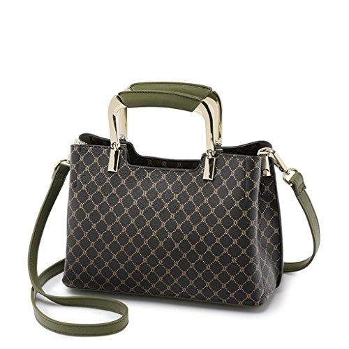 Lady sacs à main sac à main Lingge impression mode sac à bandoulière épaule (Couleur : C) C
