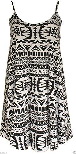 Papaval - Camiseta sin mangas - para mujer Aztec